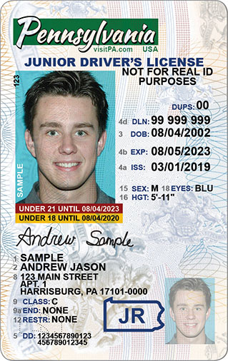 Pennsylvania S Real Id Licenses And Id Cards