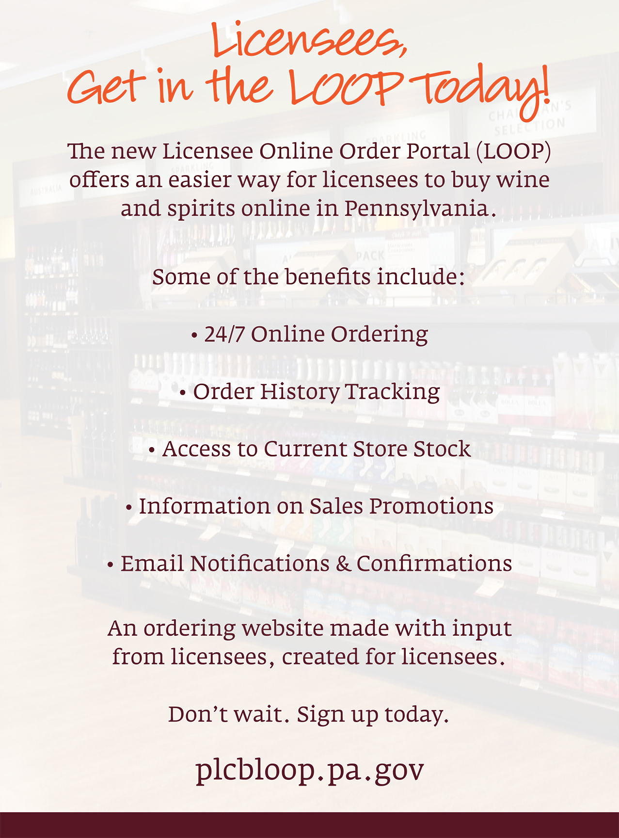 Loop licensee online order portal loop 1betcityfo Image collections